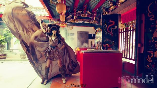 Bei Si Liu ra về sau thử thách photoshoot ở tập 2…