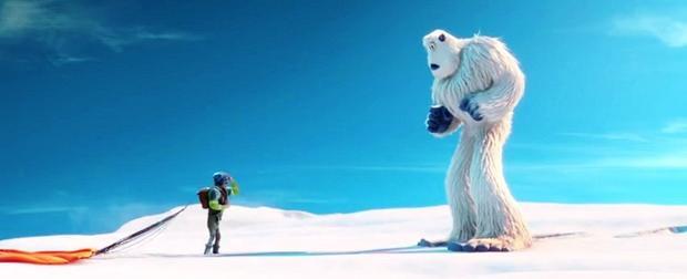 """Câu chuyện đã gặp được """"smallfoot"""" của Migo không được các Yeti tin tưởng …"""