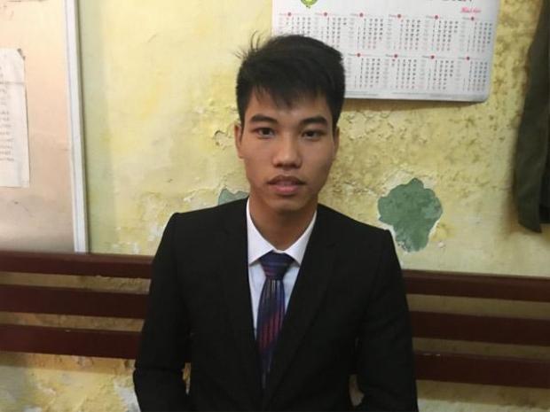 Nguyễn Hoàng Trung tự xưng Trưởng nhóm Hội thánh. Ảnh: CACC.