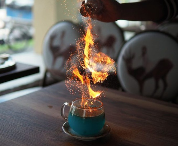 Cocktail Goblet of Fire.
