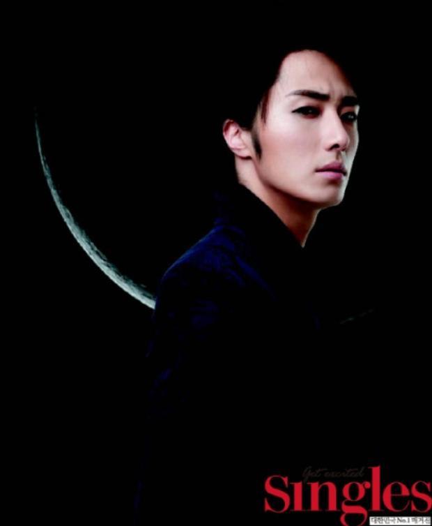 """Jung Il Woo chính là nam diễn viên đầu tiên đảm nhận vai thần chết trong bộ phim truyền hình""""49 Days"""" sản xuất năm 2011."""
