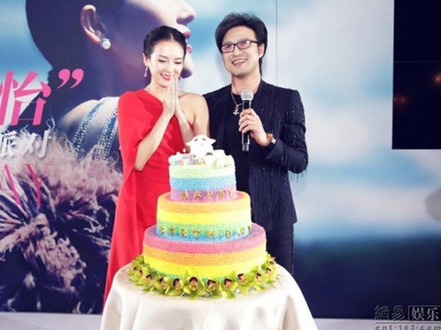 Uông Phong đã dày công chuẩn bị một sinh nhật hoành tráng cho bạn gái.