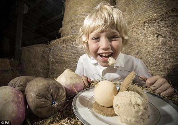 Món kem từ nội tạng động vật chính là đồ ăn thách thức thực bạn mùa hè này