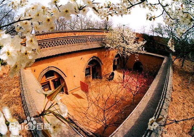Bên trong một căn nhà dưới lòng đất. Ảnh: Baidu