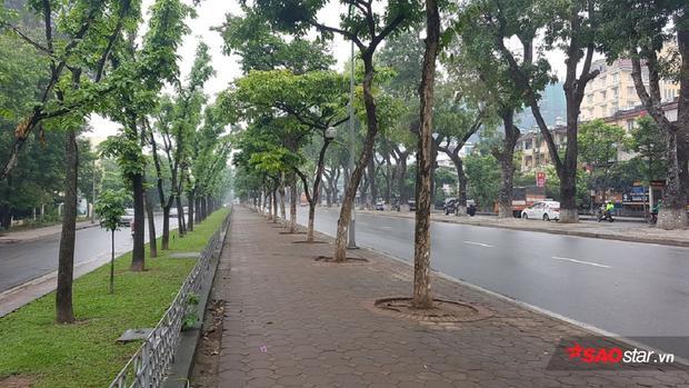 Có những lúc đường phố Kim Mã không có 1 bóng người.