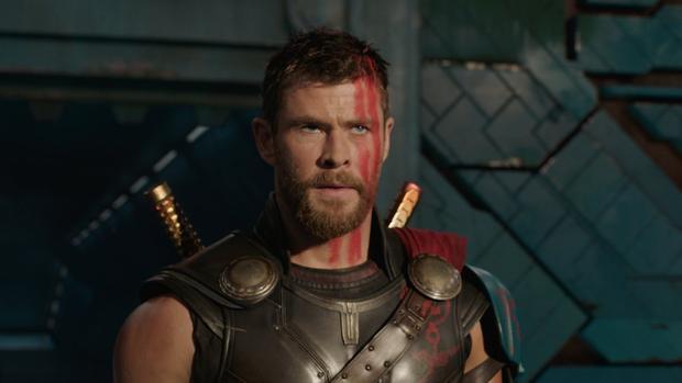 Thor trong lần xuất hiện gần đây nhất với tạo hình thay đổi đáng kể.