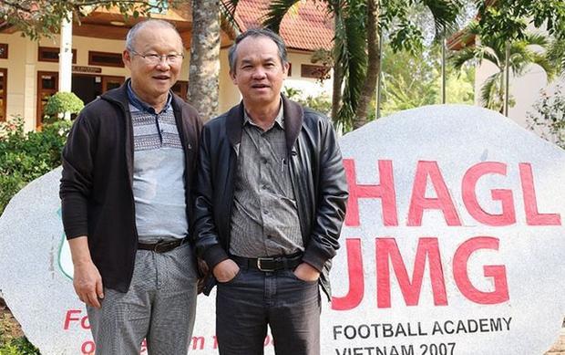 Bầu Đức góp công đưa ông Park đến với bóng đá Việt Nam.
