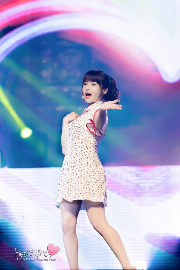 T-ara có một chị cả Boram dễ dàng chinh phục khán giả bằng nét dễ thương, trong sáng.