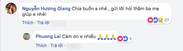 Hương Giang gửi lời chia buồn khi ông của Criss Lai qua đời.