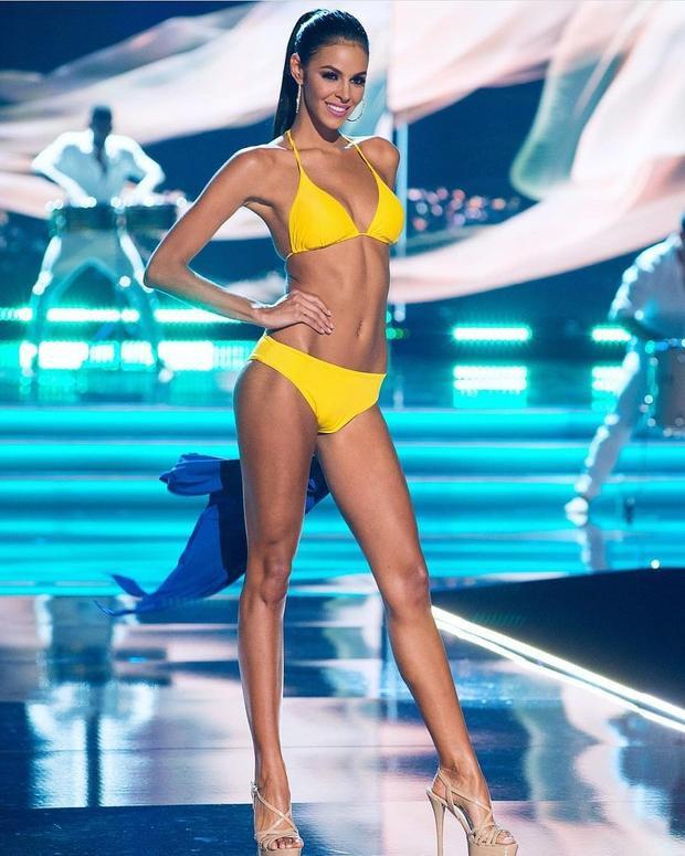 Đại diện Venezuela - top 5 Hoa hậu Hoàn vũ 2017.