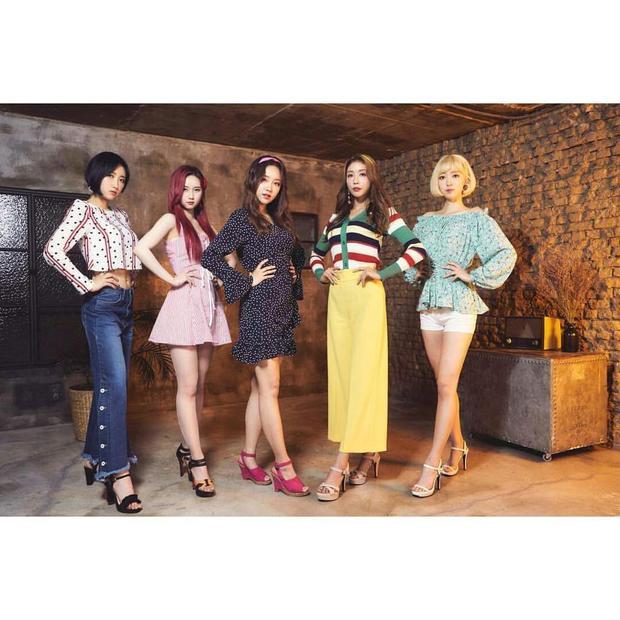 Girlgroup GBB chào sân Kpop vào ngày 1/5.
