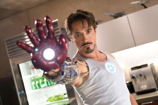 Iron Man lần đầu tiên xuất hiện trước mắt khán giả năm 2008.