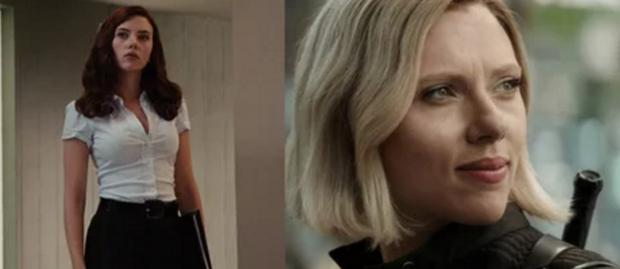 Black Widow thay đổi kiểu tóc nhưng vẫn giữ nguyên vẻ trẻ trung, quyến rũ như cách đó 10 năm.