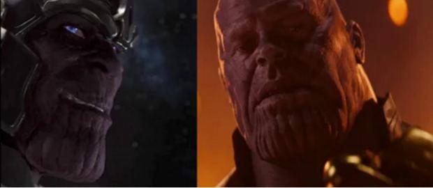 Riêng trùm cuối phản diện - Thanos vẫn trung thành với màu tím mộng mơ.