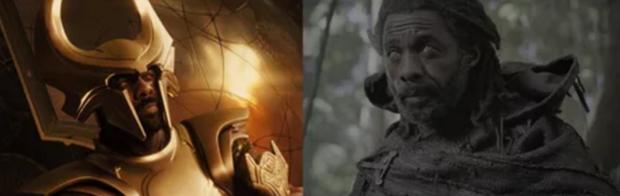 Heimdall với hai hình ảnh hoàn toàn trái ngược từ Thor 2011 đếnThor: Ragnarok 2017.