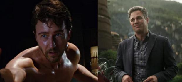 Bruce Banner khác biệt hoàn toàn từThe Incredible Hulk 2008 đếnAvengers: Infinity War 2018.