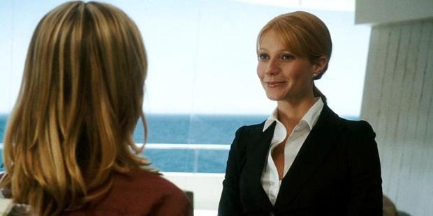 Pepper Potts trẻ trung, xinh đẹp ở Iron Man 2008.