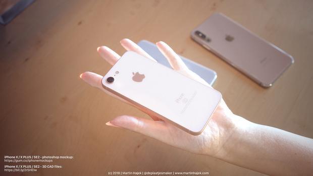 iPhone SE2 nhiều khả năng sẽ có thiết kế kim loại - kính, đồng nghĩa với việc khả năng cao chiếc máy này cũng sẽ hỗ trợ tính năng sạc không dây. Dù vậy, máy không có nhiều điểm khác biệt so với thiết bị tiền nhiệm với kích thước màn hình 4 inch.