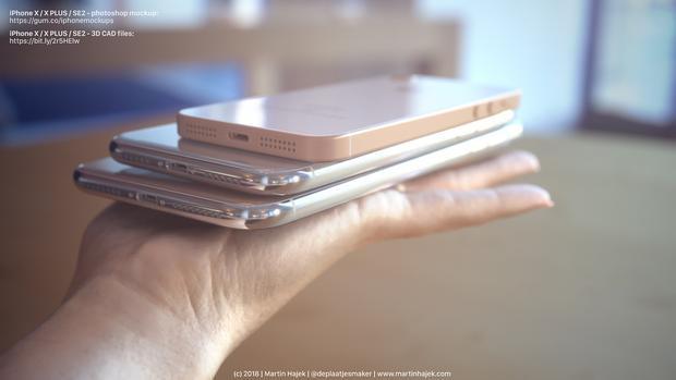Trong concept này, Martin Hajek thể hiện iPhone SE2 không có jack cắm tai nghe 3,5 mm. Tuy nhiên, một số hình ảnh thực tế được cho là iPhoen SE2 rò rỉ gần đây lại thể hiện điều ngược lại.