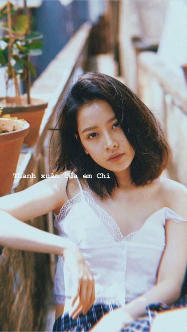 Bộ hình mới nhất của Chi Pu theo concept thanh xuân.