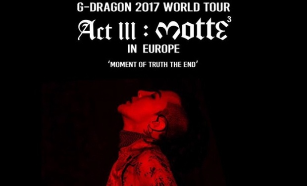 """Bị gắn mác """"đạo nhái"""" với hình ảnh quảng bá tour diễn 2017 từ thủ lĩnh Bigbang: G-Dragon."""