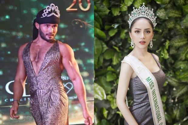 """Các fan đang trông chờ clip catwalk """"chặt chém"""" của hoa hậu Hương Giang và Sinon Loresca tại Việt Nam."""