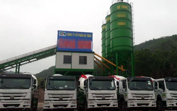 Công ty cổ phần bê tông Giang Ninh- nơi xảy ra vụ việc. Ảnh Báo Bắc Giang