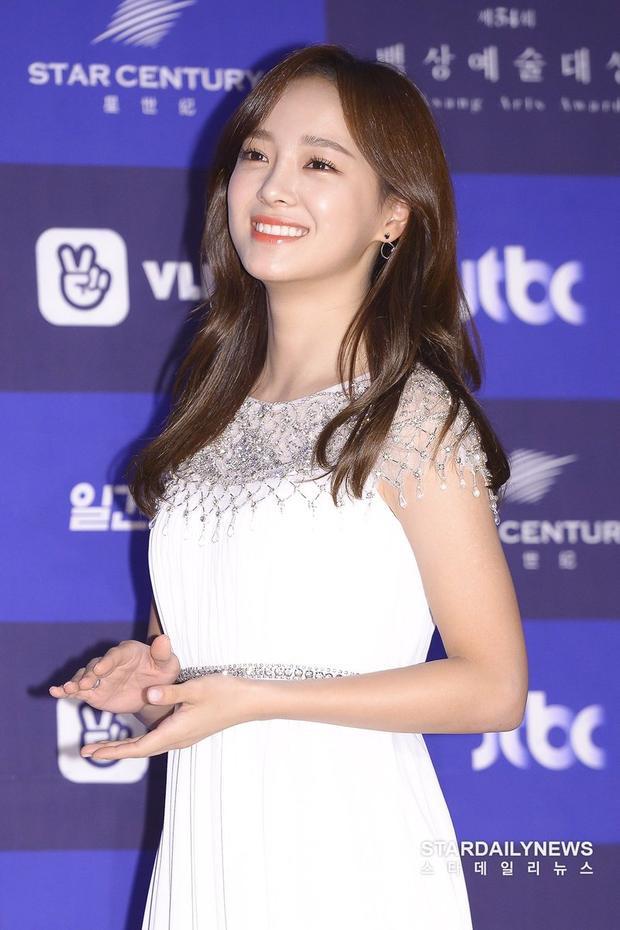 Kim Sejeong cùng nụ cười đáng yêu.