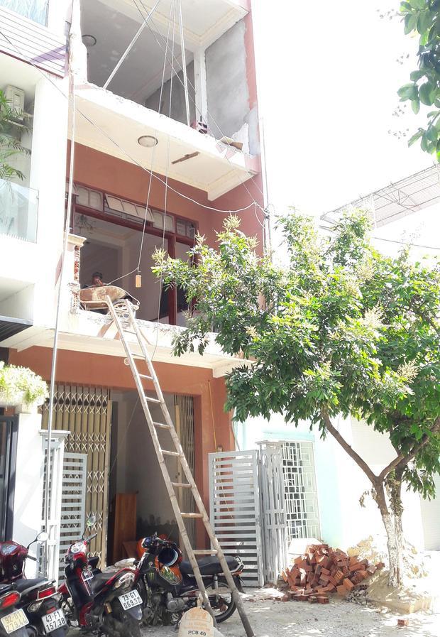 Ngôi nhà xảy ra vụ mất trộm.