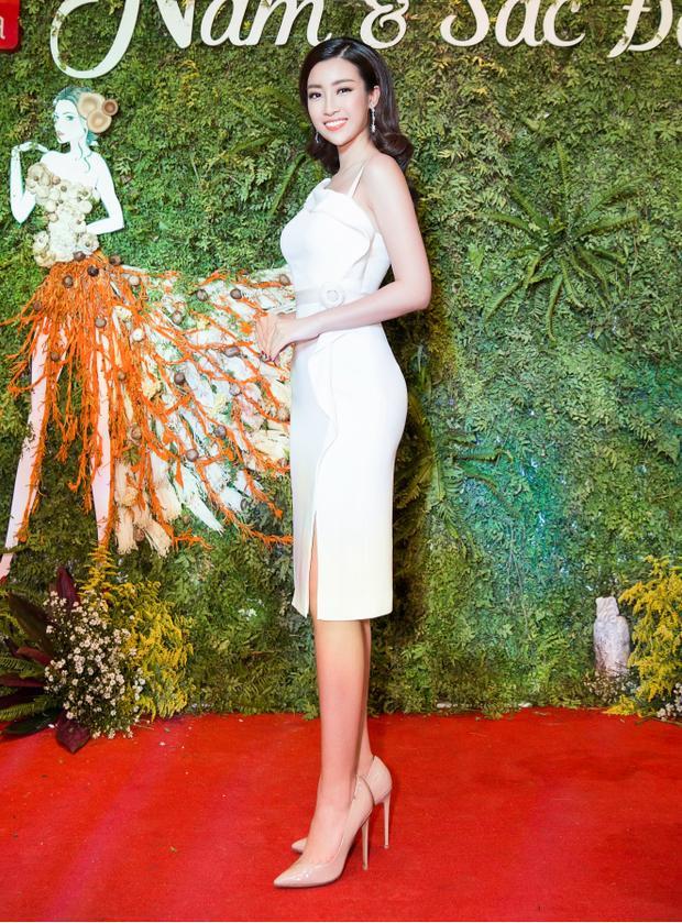 """Năm 2017 là một năm khá thành công với Mỹ Linh khi cô đã đạt top 40 Miss World.Mỹ Linh đã làm nên lịch sử cho người đẹpViệt tại đấu trường nhan sắc này khi là đại diệnViệt Nam đầu tiên thắng ở hạng mục """"Hoa hậu Nhân ái""""."""