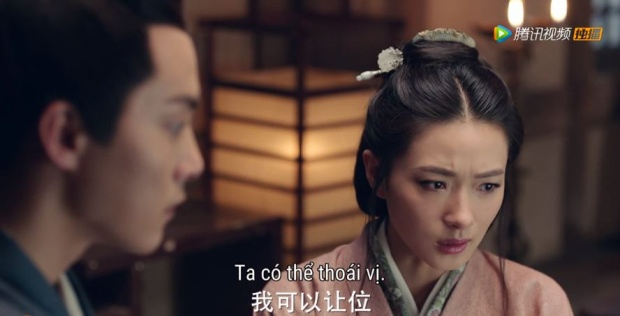 Phục Thọ đưa ra ý muốn thoái vị để bảo vệ bí mật cho Lưu Bình