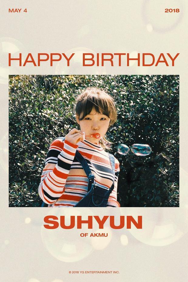 Chúc mừng sinh nhật Suhyun! #MochiPeachDay
