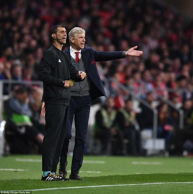 Đã không có cái kết đẹp cho Arsene Wenger ở Arsenal. Thua Atletico khiến Arsenal bị loại ở giải đấu cuối cùng Pháo thủ có hi vọng giành danh hiệu ở mùa giải này.