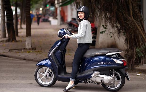 Xe tay ga ngày càng được yêu thích nhờ kiểu dáng đẹp.
