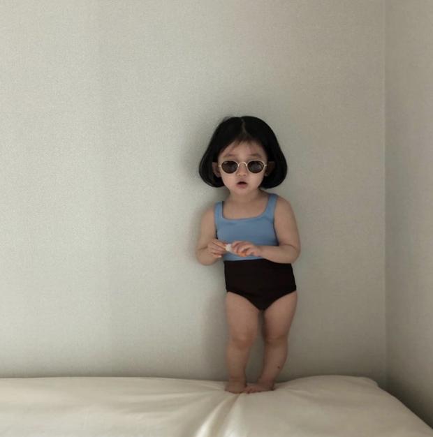 Vì thế, cô công chúa nhỏ trông như một fashionista thật sự.