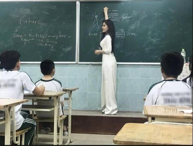 """Cô giáo từng được mệnh danh là """"hot nhất mạng xã hội""""."""
