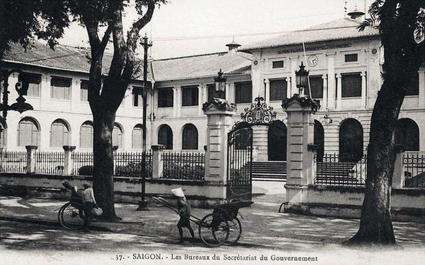 Tòa nhà hồi đầu thế kỷ XX.