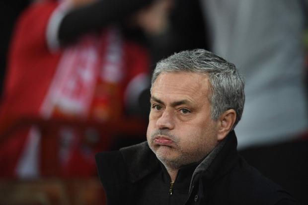 Mourinho chỉ trích các học trò vì thi đấu với tinh thần bạc nhược.