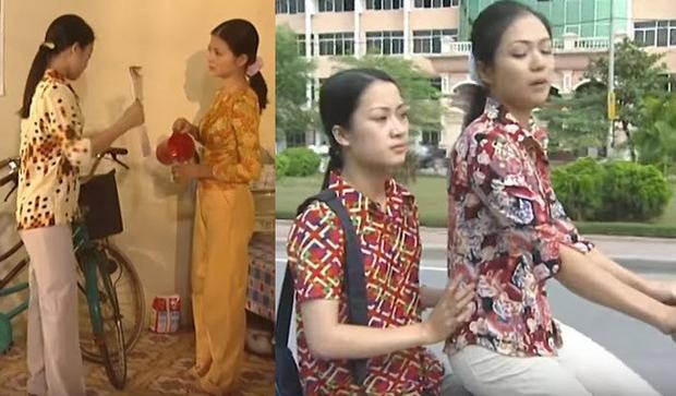 Thì cả Nhung và Thương đều có cho mình vài chiếc áo sơ-mi rực rỡ, chất liệu vải mỏng, nhẹ, ít nhăn.