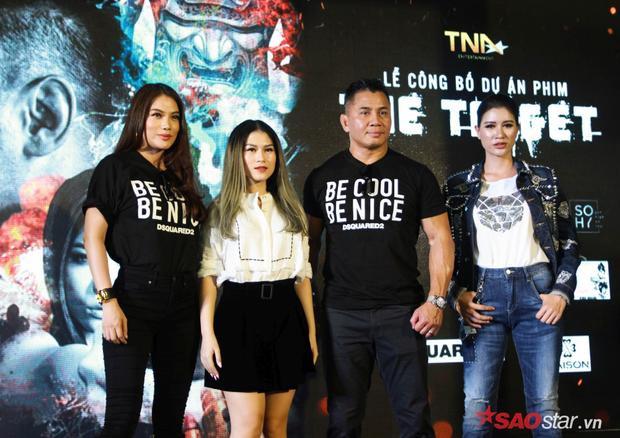 Trương Ngọc Ánh kết hợp với ngôi sao võ thuật nổi tiếng nhất thế giới làm phim hành động The Target  Mục tiêu chết