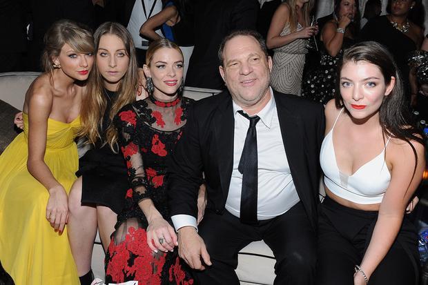 Harvey Weinstein trước khi bị lật đổ.