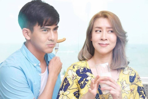 """Cặp đôi """"chị em"""" được đông đảo mọt phim Thái yêu thích và mong trở thành """"real couple""""."""