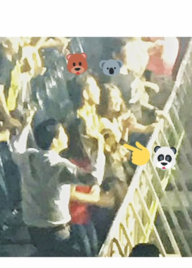 Toey và Cheer bị fan bắt gặp đi xem ca nhạc cùng nhau.