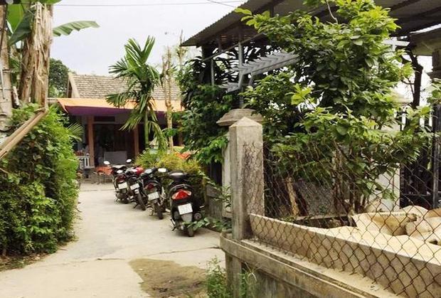 Ngôi nhà của anh T., nơi cháu R. vặn tay ga còn nổ máy khiến cháu tử vong. Ảnh: Tiền Phong.