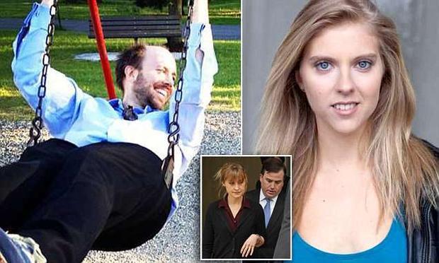 Bác sĩ Brandon Porter (hình trái) và nữ diễn viên Jennifer Kobelt. Ảnh: Daily Mail