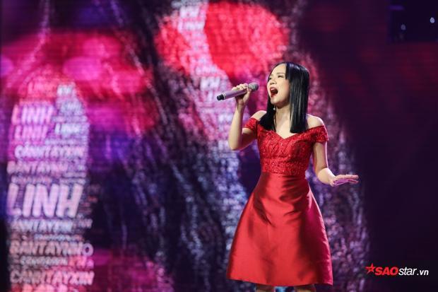 Khả Linh gây ấn tượng mạnh với giọng hát đẹp và đầy nội lực như Diva Mỹ Linh.