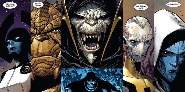 Black Order phiên bản truyện tranh.