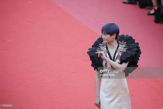 Phạm Băng Băng xinh như công chúa, Lý Nhã Kỳ và Chompoo Araya rực rỡ tại thảm đỏ LHP Cannes 2018