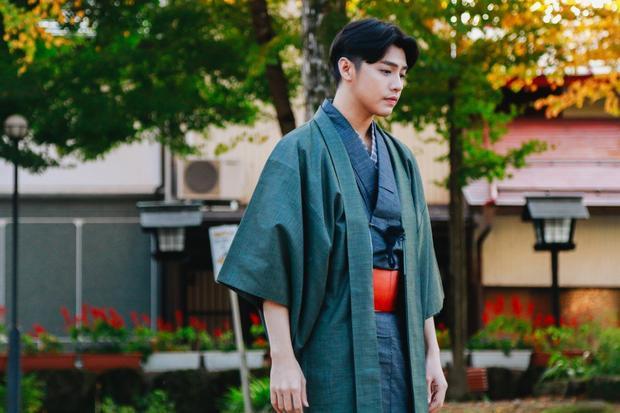 Noo Phước Thịnh cũng có dịp thử nghiệm kimono khi quay MV tại Nhật Bản.