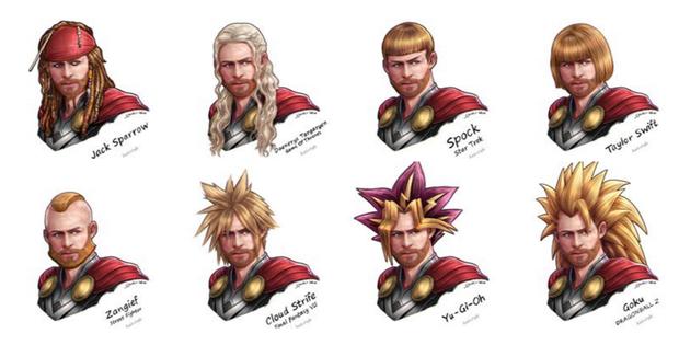 Bạn thấy anh chàng hợp với bộ tóc nào nhất?